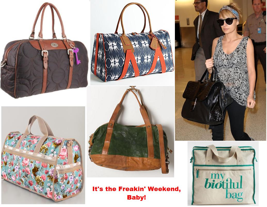 Accessory Report: Weekender Bags |